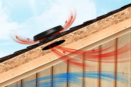 Prodkrovny Solarny Ventilator Solatube